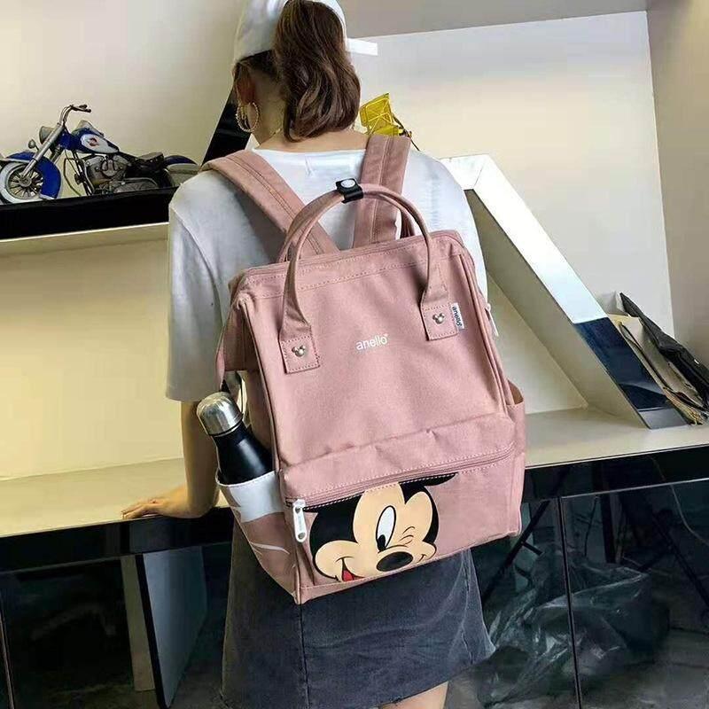 สินเชื่อบุคคลซิตี้  ขอนแก่น กระเป๋า Anello Đisnēy 2019 Polyester Canvas Backpack Limited Edition