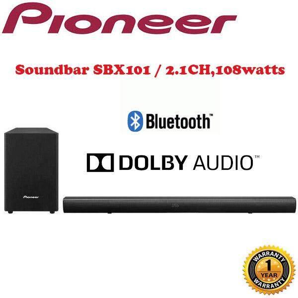 ยี่ห้อนี้ดีไหม  บึงกาฬ PIONEER Soundbar SBX-101 (2.1CH  108 Watts)