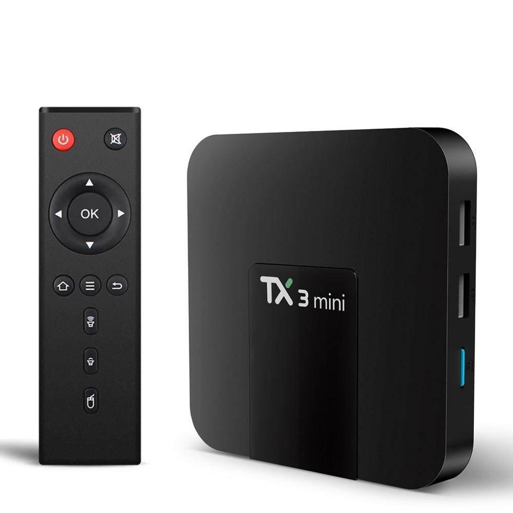 ซื้อที่ไหน  เพชรบูรณ์ 【Tx3 Mini Android 7.1】 กล่องทีวี กล่องทีวีกับจอแสดงผล Tx3 Mini - Android 7.1 Ram 2 GB   Rom 16 GB Amlogic S905W  WIFI 2.4  รองรับ 4K TV BOX Smart TV BOX