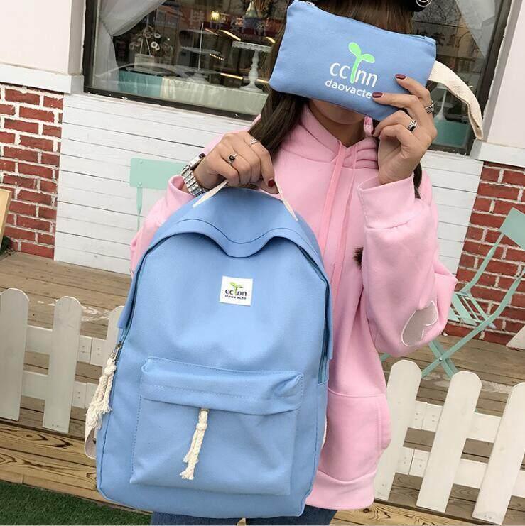 กระเป๋าถือ นักเรียน ผู้หญิง วัยรุ่น กำแพงเพชร กระเป๋าเป้สะพายหลังแฟชั่น สกรีน กระเป๋าแฟชั่น กระเป๋าเดินทางสตรีท กระเป๋าถือสตรี Women s fashion bag Backpacks