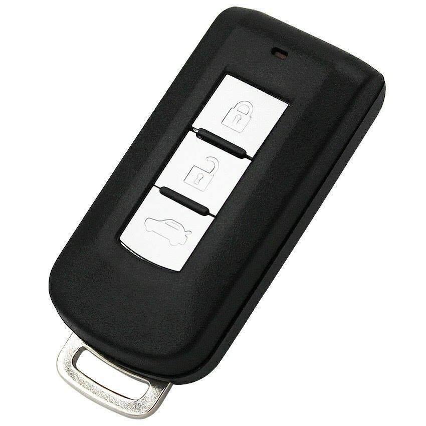 กรอบกุญแจ Mitsubishi Mirage Pajero Attrage (Smart Key) *ส่งฟรี kerry เก็บเงินปลายทางได้*