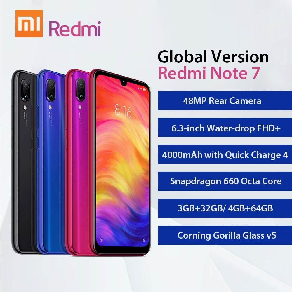 เชียงใหม่ Redmi Note 7 (Global) 3/32GB เครื่องศูนย์ประกัน18เดือน