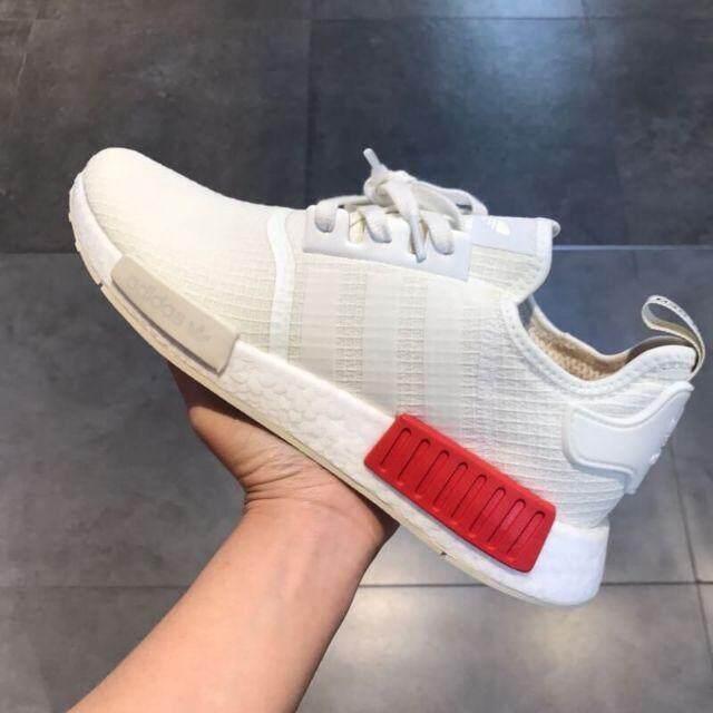 การใช้งาน  ลำพูน sawnoi usa ??รองเท้าผ้าใบAdidas NMD R1 white red