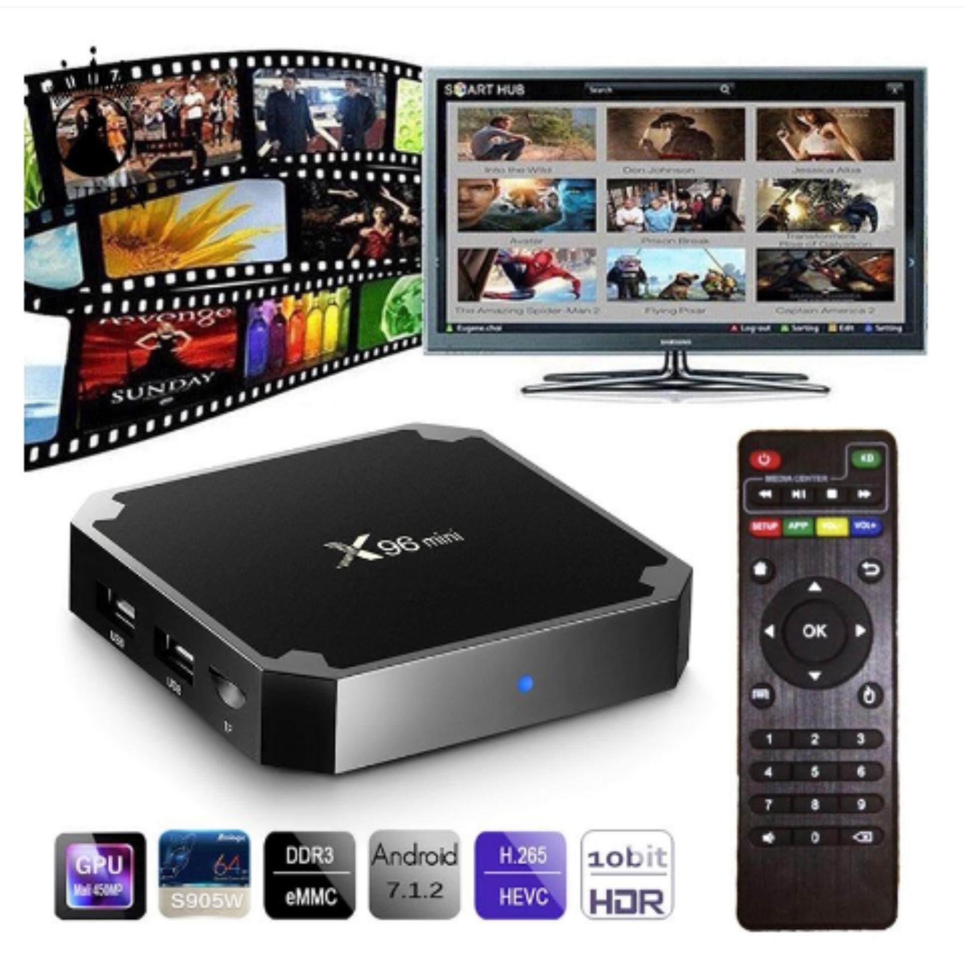 สอนใช้งาน  สุรินทร์ Android Smart tv box 2019 จัดโปร ถูกสุด X96mini RAM2GB ROM16GB