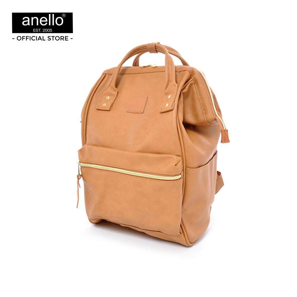 สอนใช้งาน  พระนครศรีอยุธยา anello กระเป๋า Regular PU Backpack_AT-B1211