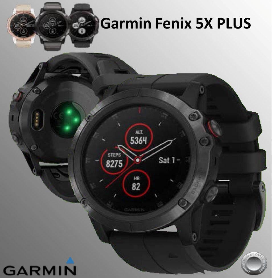 ร้อยเอ็ด Garmin Fēnix 5 X PLUS Sapphire Multisport GPS Mapping สินค้าพร้อมส่ง  (Instruction Manual in Thai & English)  (คู่มือภาษาไทยและอังกฤษ)