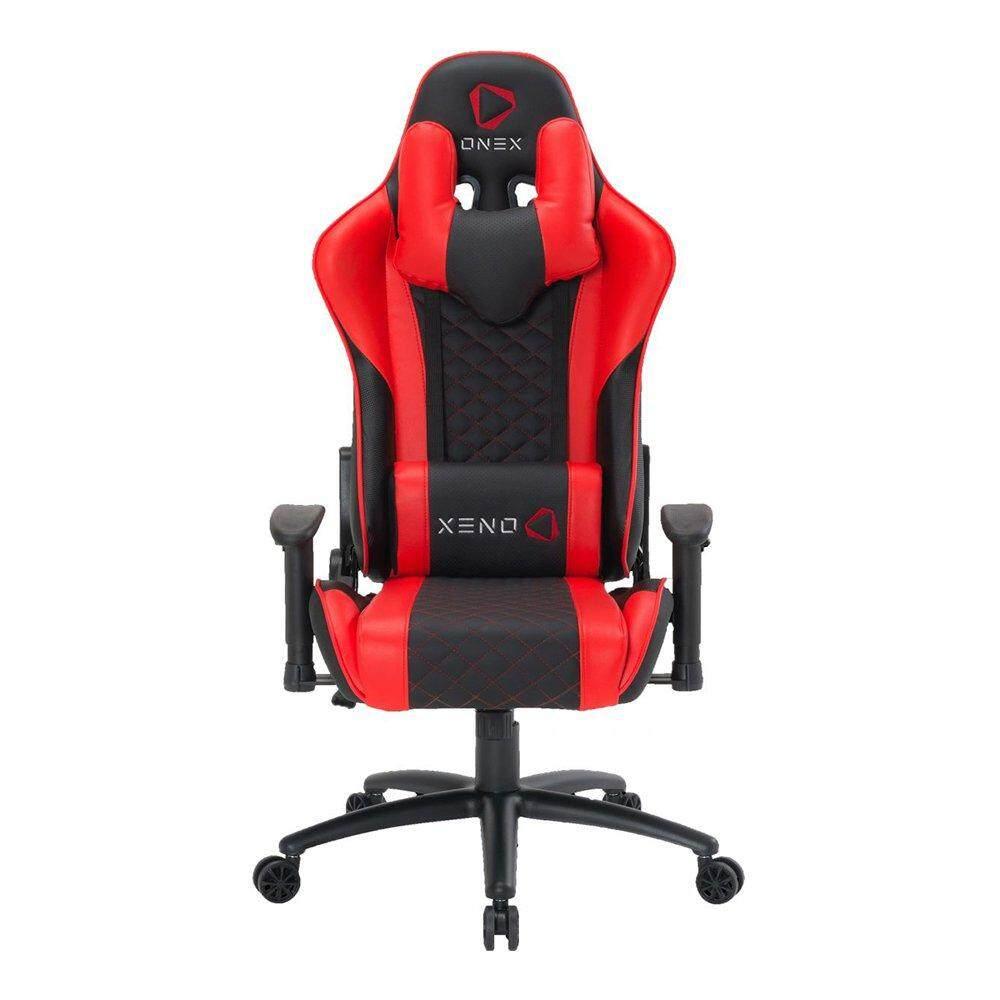 สอนใช้งาน  GAMING CHAIR (เก้าอี้เกมมิ่ง) ONEX GX3 (BLACK/RED)