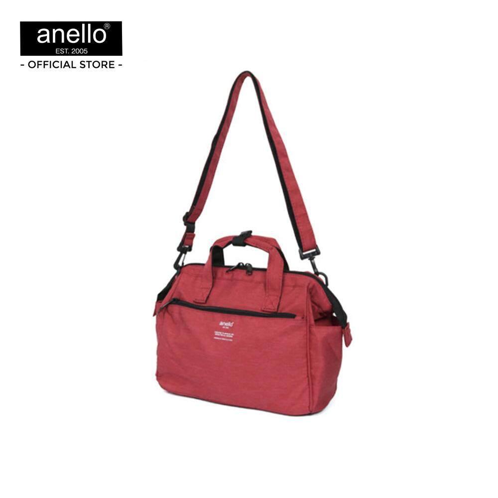 ยี่ห้อนี้ดีไหม  หนองบัวลำภู anello กระเป๋าสะพายไหล่ 2Way Mini Boston Bag_AT-C2614