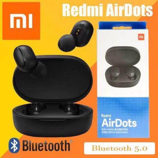 สอนใช้งาน  พิจิตร Xiaomi Redmi Airdots ใหม่ล่าสุด หูฟังไร้สาย True Wireless หูฟัง Bluetooth 5.0 หูฟังไร้สาย หูฟังบลูทูธ Bluetooth Earphone หูฟังบลูทูธอัจฉริยะ