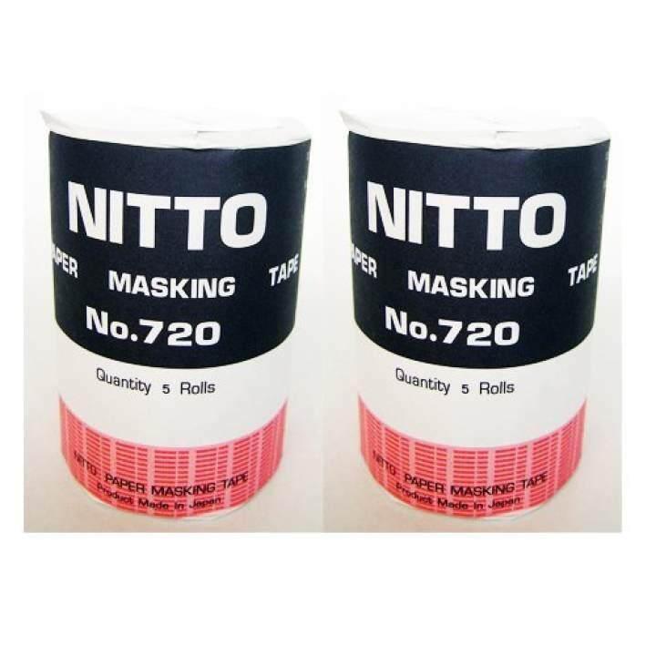 ขอนแก่น   ส่งฟรี    NITTO กระดาษกาวนิตโต้ NITTO TAPE NO.720 (แพ็ค10ม้วน)