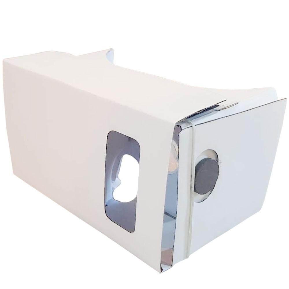 """สุดยอดสินค้า!! """"ส่งฟรี KERRY""""google cardboard white แว่น VR สีขาว 3 มิติ 360 องศา ios android 4.1-5.7 นิ้ว"""