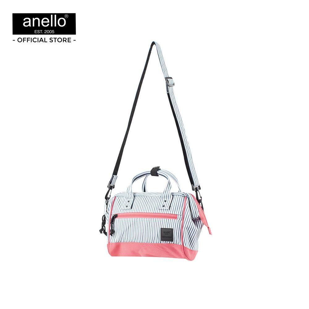 ยี่ห้อไหนดี  ตรัง anello กระเป๋า สะพายข้าง MINI Multi color Mini Shoulder Bag OS-N047