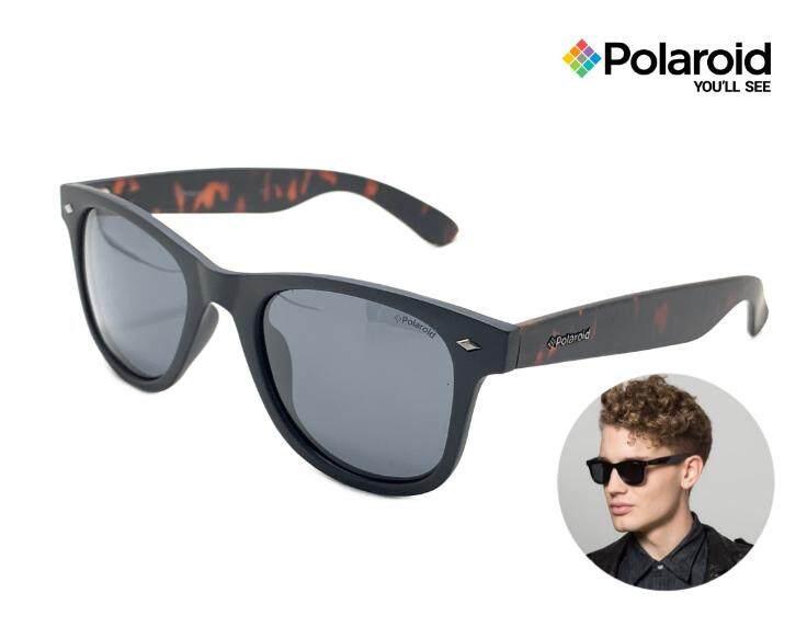 สุดยอดสินค้า!! แว่นกันแดด แว่นกันแดดผู้ชาย Polaroid PLD 1016/S LL1/Y2 ขนาด 50-22 145 mm. สีดำด้าน/กระ (ของแท้ 100%) ได้รับความนิยมอย่างมากในกลุ่มวันรุ่น จัดส่งฟรี Kerry มีบริการเก็บเงินปลายทาง