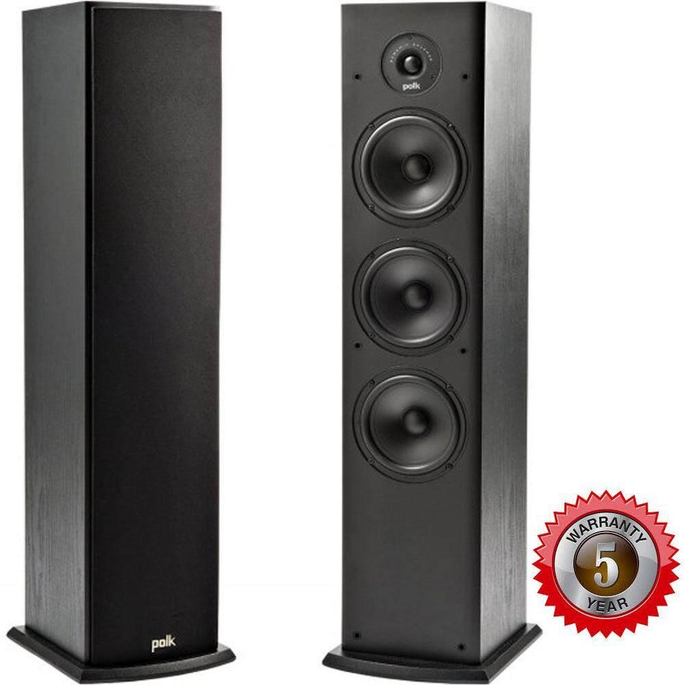 ยี่ห้อไหนดี  ระนอง Polk Audio T50 (Pair) Floor Standing Tower Speaker