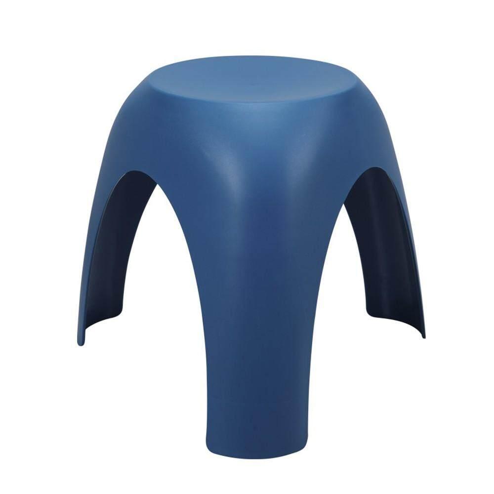 เช่าเก้าอี้ กรุงเทพ เก้าอี้พลาสติก รุ่น ว้าว - สีน้ำเงิน