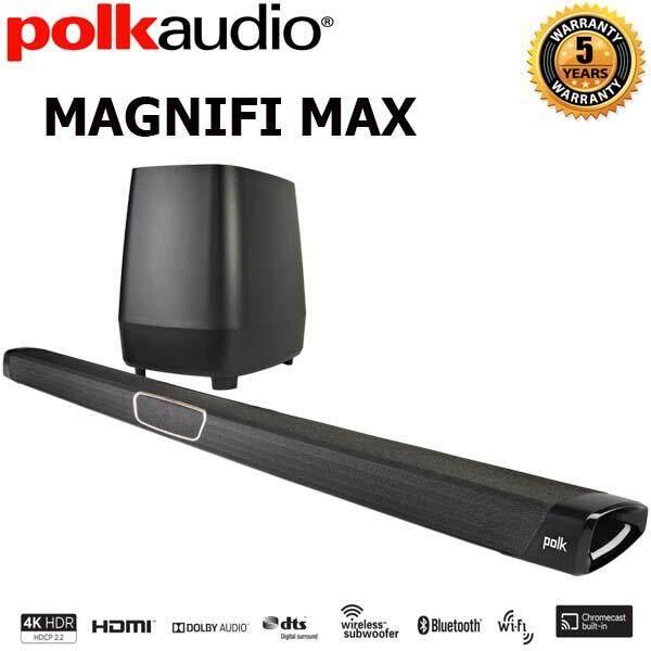 การใช้งาน  ปทุมธานี Polk Audio MagniFi MAX