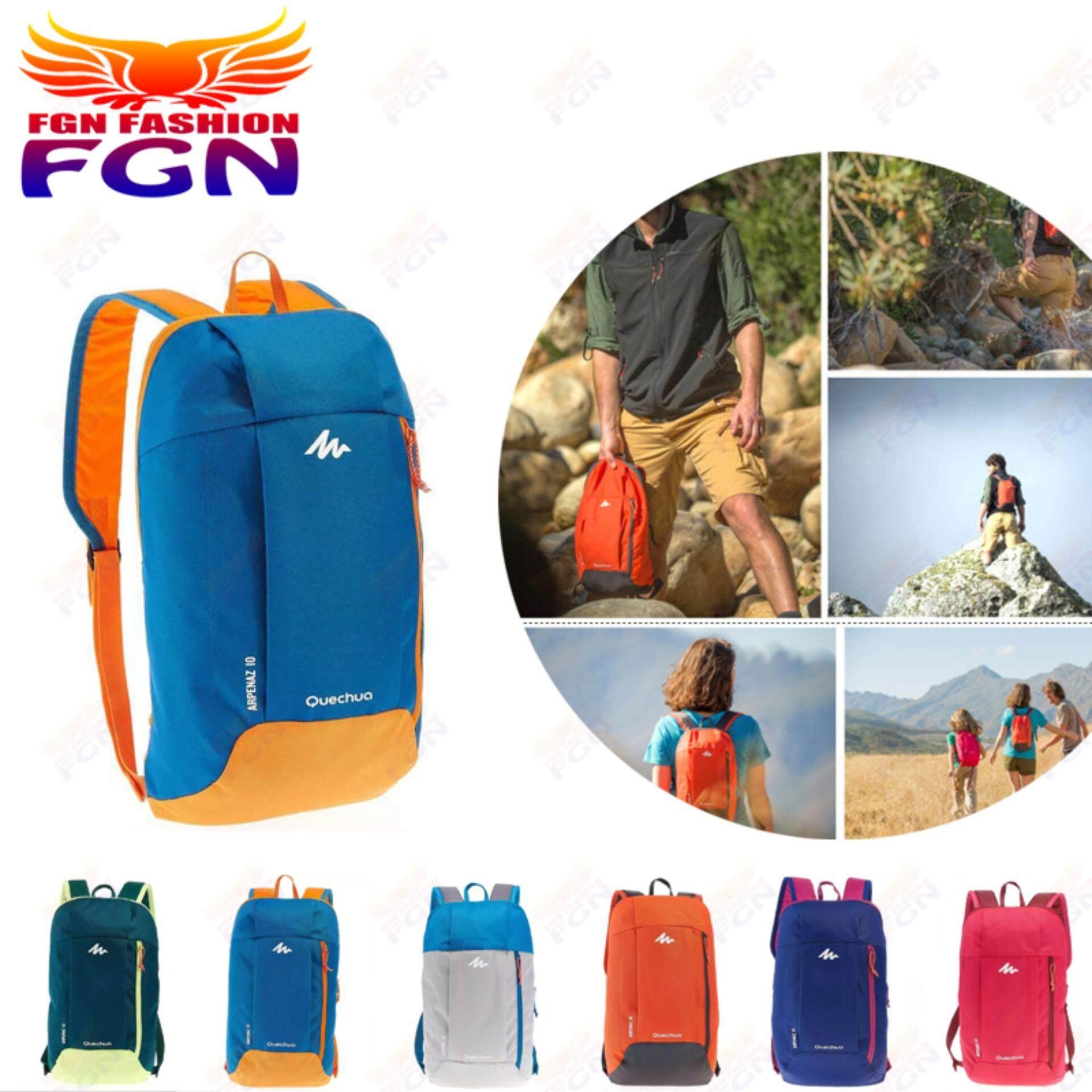 กระเป๋าถือ นักเรียน ผู้หญิง วัยรุ่น สงขลา FGN รุ่นใหม่ แบบออกกำลัง Backpack กระเป๋าเป้เบ็ดตเล็ด กระเป๋าเป้ท่องเที่ยว  Fashion Bag FGN 079(สีฟ้า)