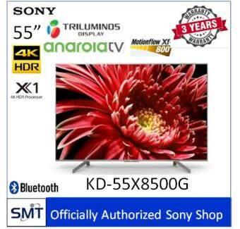 Sony  55 4K HDR Andriod TV KD-55X8500G (สีเงิน) รุ่นปี 2019