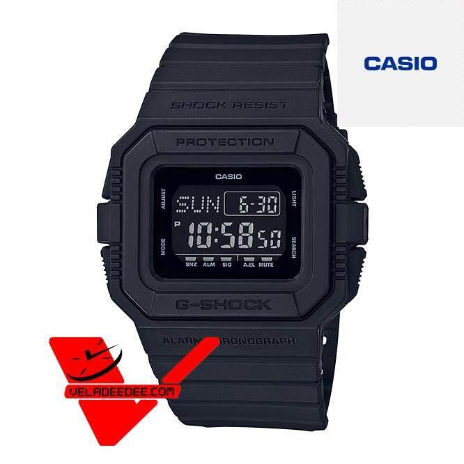 Veladeedee นาฬิกา  Casio G-shock รุ่นสีพิเศษ  นาฬิกาข้อมือชาย  สายเรซิ่น (ประกัน CMG ศูนย์เซ็นทรัล 1 ปี) รุ่น DW-D5500BB-1DR