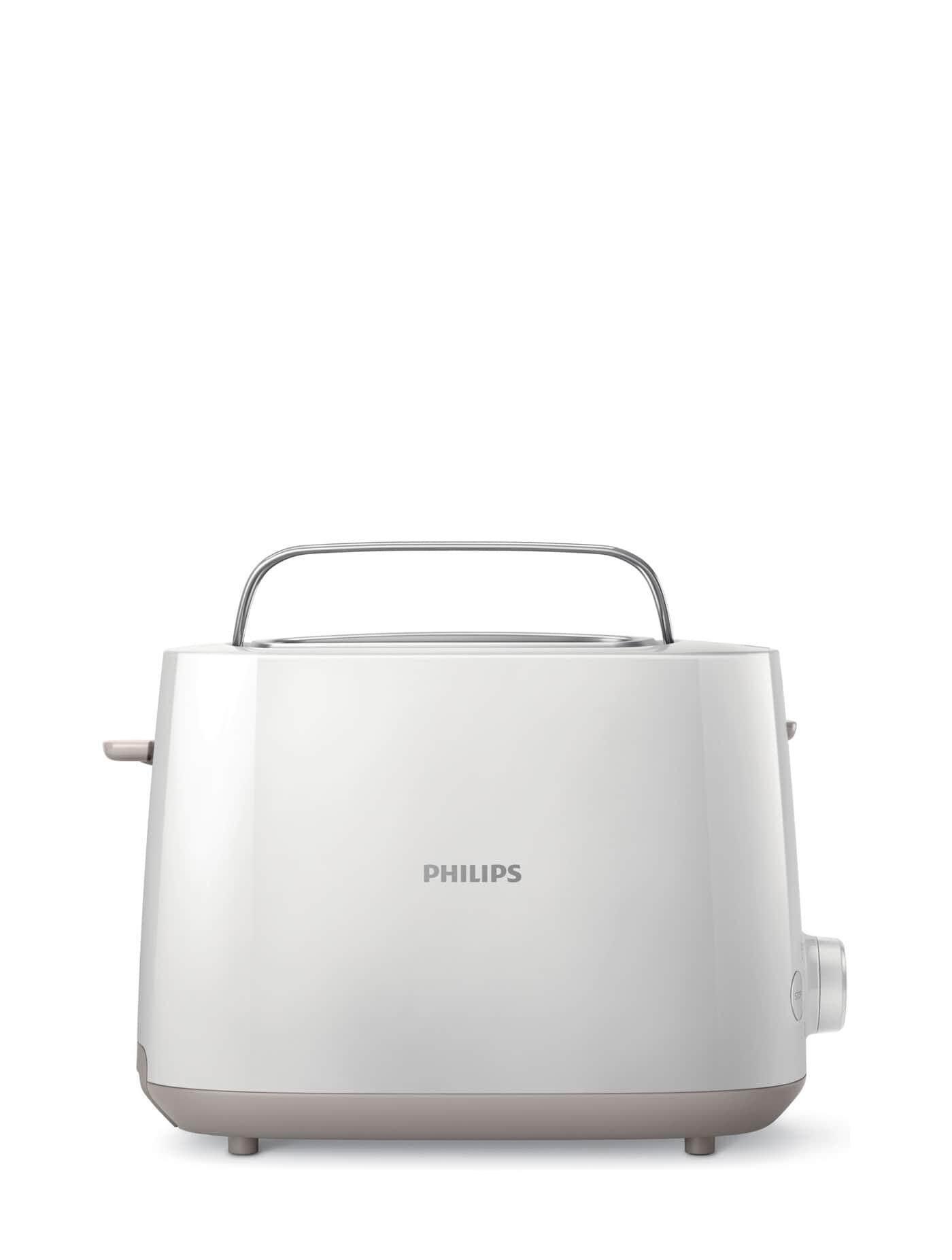 ยี่ห้อนี้ดีไหม  ชลบุรี PHILIPS เครื่องปิ้งขนมปัง รุ่น HD2581 สีขาว toasters sandwich makers
