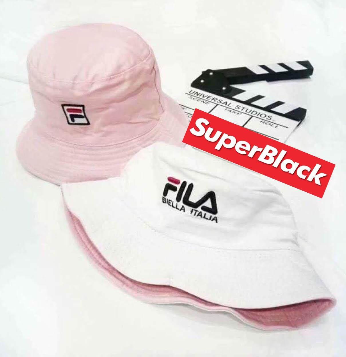 หมวกFILA (สีขาว/สีชมพู*ใส่ได้ทั้ง2ด้าน*) *จัดส่งจากก.ท.ม ส่งฟรีKerryเก็บเงินปลายได้*