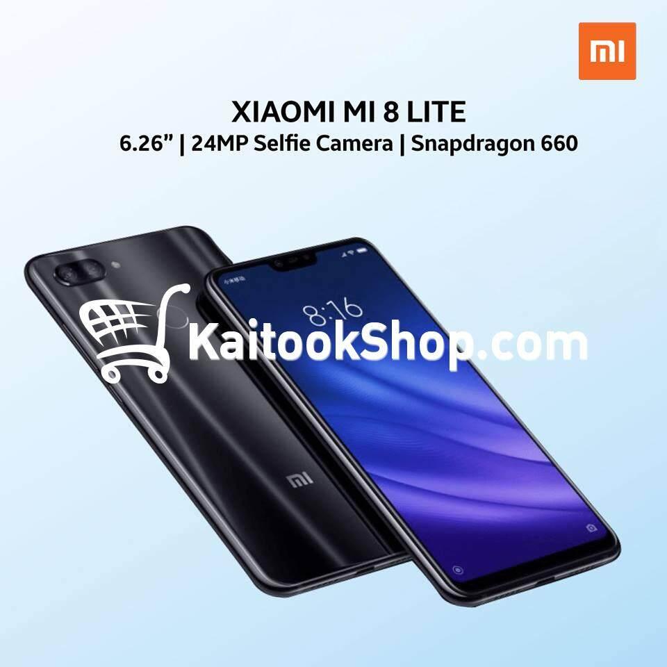 ยี่ห้อไหนดี  สุโขทัย Xiaomi Mi 8 Lite (4GB + 64GB) # ประกันศูนย์ไทย 1 ปี