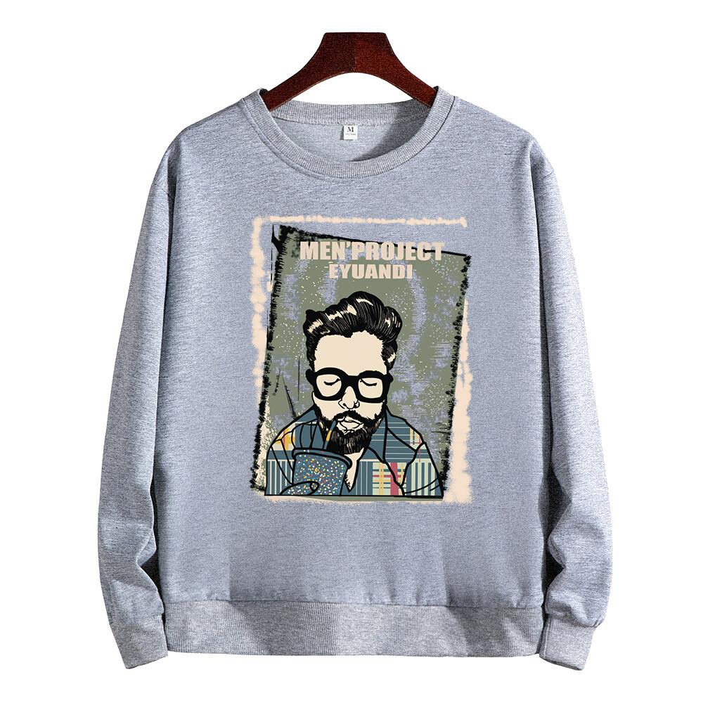 Fashion & Dream เสื้อแจ็คเก็ตVintageเสื้อกันหนาว เสื้อคลุมหนาวแขนยาว+หมวกลายการ์ตูนน่ารักแฟชั่นสไตล์เกาหลี