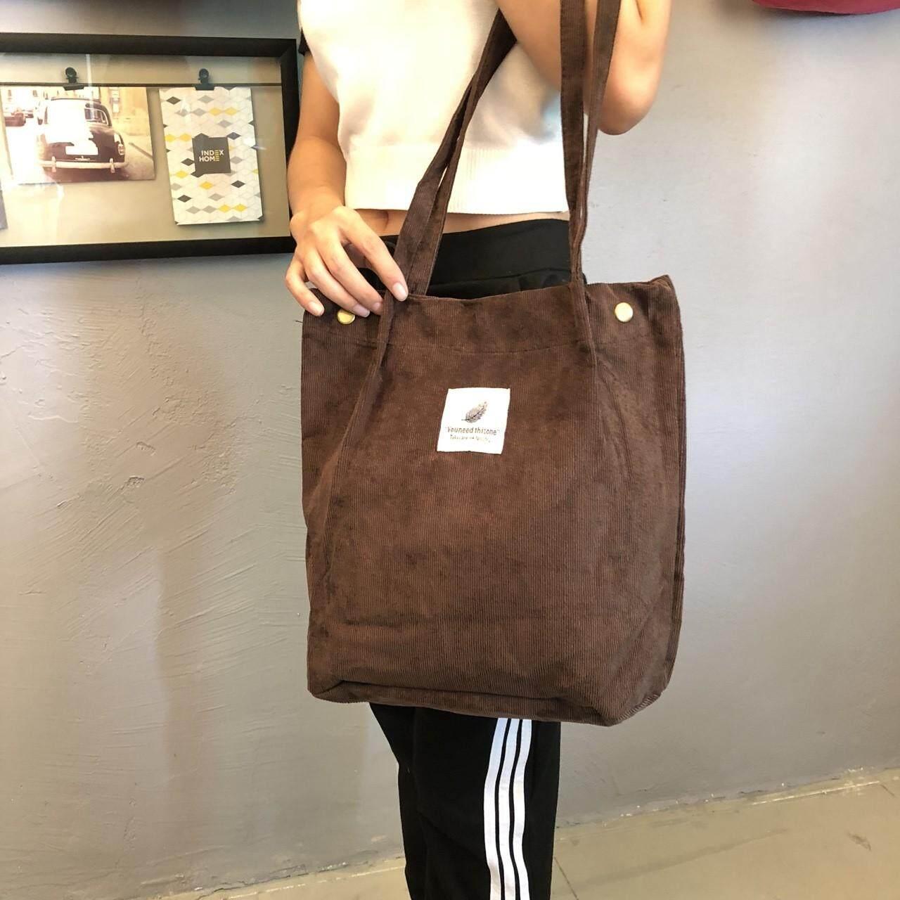 กระเป๋าเป้ นักเรียน ผู้หญิง วัยรุ่น สตูล กระเป๋าผ้าYouneedผ้าลูกฝูกสไตล์น่ารัก B454)