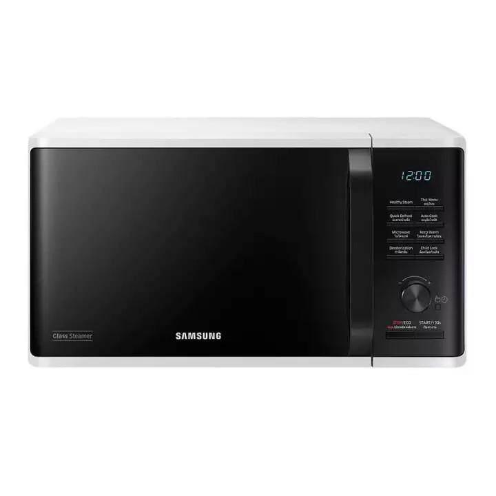 ของแท้ มาใหม่ !  Deehappyshop  ไมโครเวฟ Samsung MS23K3555EW/ST Microwave 23 Litre White