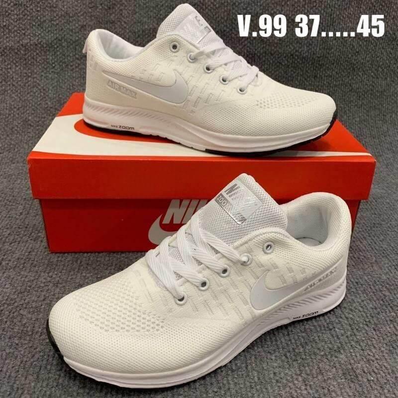 สุดยอดสินค้า!! Nike Air max รองเท้าผ้าใบNike  รองเท้าNike  ขนาด EU : 37-45 (ส่งฟรี KERRY) N2001