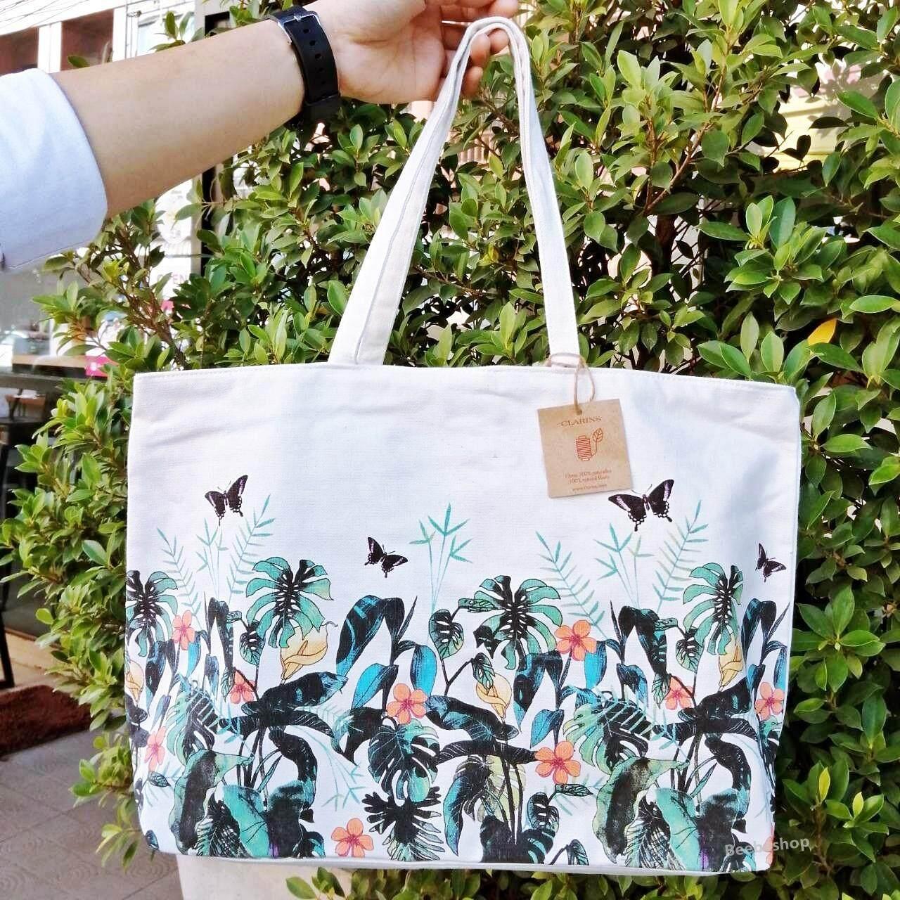 กระเป๋าเป้ นักเรียน ผู้หญิง วัยรุ่น บุรีรัมย์ Clarins Spring Summer Collection Polynesia BAG 2019