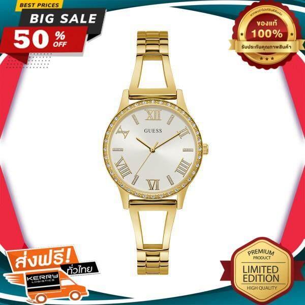 เก็บเงินปลายทางได้ WOW! นาฬิกาข้อมือคุณผู้หญิง GUESS นาฬิกาข้อมือผู้หญิง Chelsea รุ่น W1197L3 สีทอง ของแท้ 100% สินค้าขายดี จัดส่งฟรี Kerry!! ศูนย์รวม นาฬิกา casio นาฬิกาผู้หญิง นาฬิกาผู้ชาย นาฬิกา se
