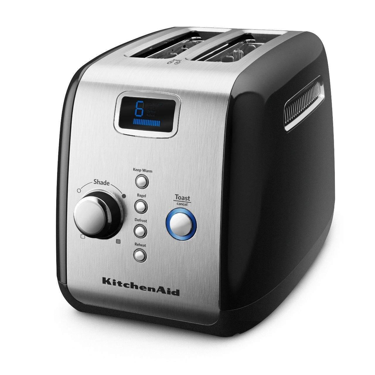 สอนใช้งาน  นราธิวาส KitchenAid 5KMT223GOB Automatic/Pop Up Toaster Onyx Black