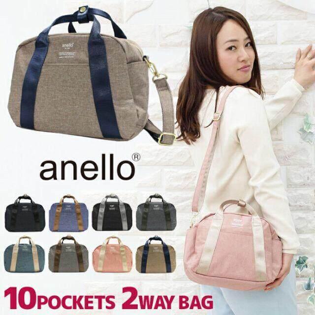 การใช้งาน  อำนาจเจริญ Anello Boston shoulder bag