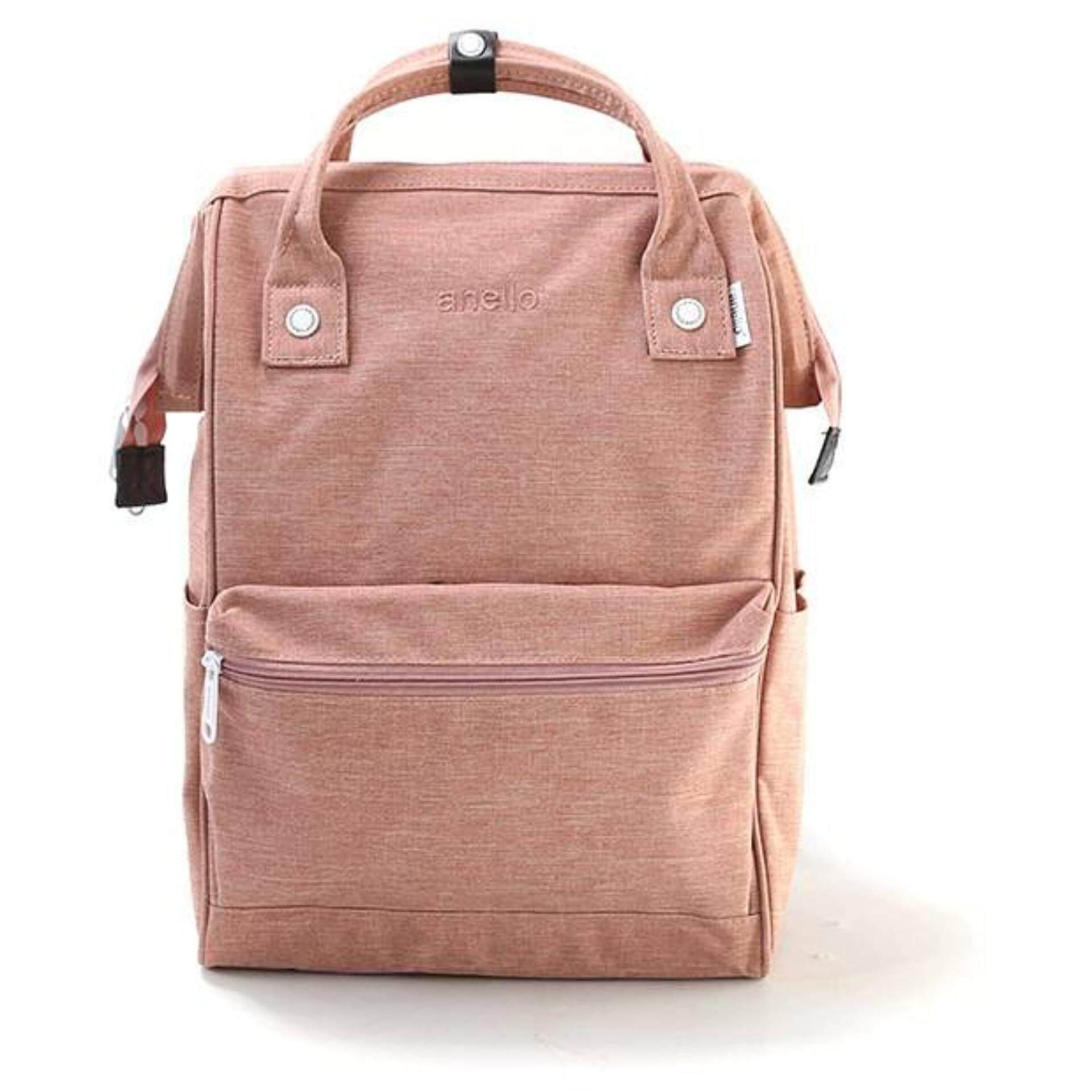 การใช้งาน  แม่ฮ่องสอน Anello Regular Backpack-Heat Tone ชมพู