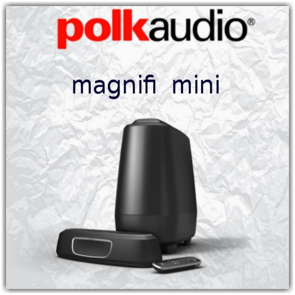 สอนใช้งาน  พะเยา Polk Audio magnifi mini รับประกัน 3ปีศูนย์ Power  Buy