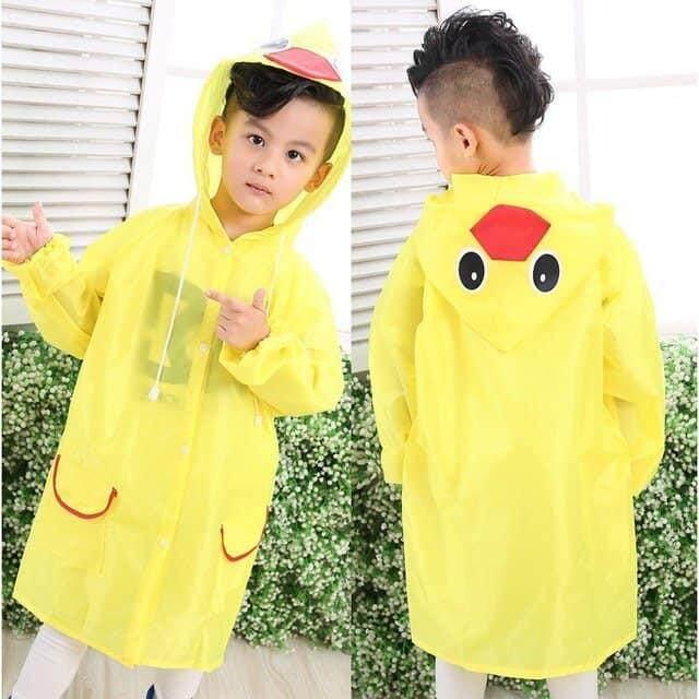 เสื้อกันฝนเด็ก ชุดกันฝนเด็ก ลายการ์ตูน ผ้าดี สุดการ์ตูนน่ารัก สำหรับเด็ก 2ขวบ -5ขวบ ( 1ตัว )