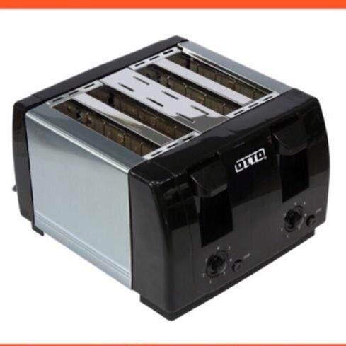ฉะเชิงเทรา OTTO เครื่องปิ้งขนมปัง รุ่น TT135A เตาปิ้งขนมปัง เตาปิ้ง ที่ปิ้งขนมปัง อบขนมปัง ทำอาหารเช้า Toaster ราคาถูก เก็บเงินปลายทาง ส่งฟรี