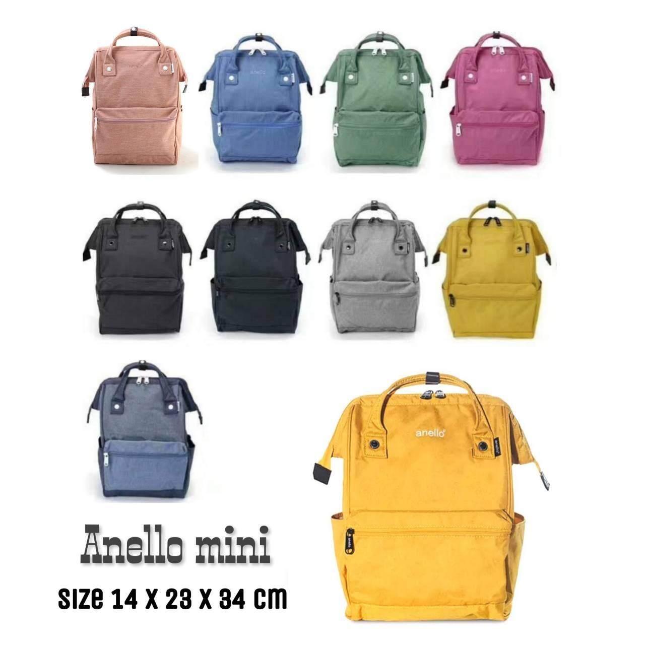 สอนใช้งาน  สิงห์บุรี Anello Mini Backpack-Heat Tone Waterproof (YE)