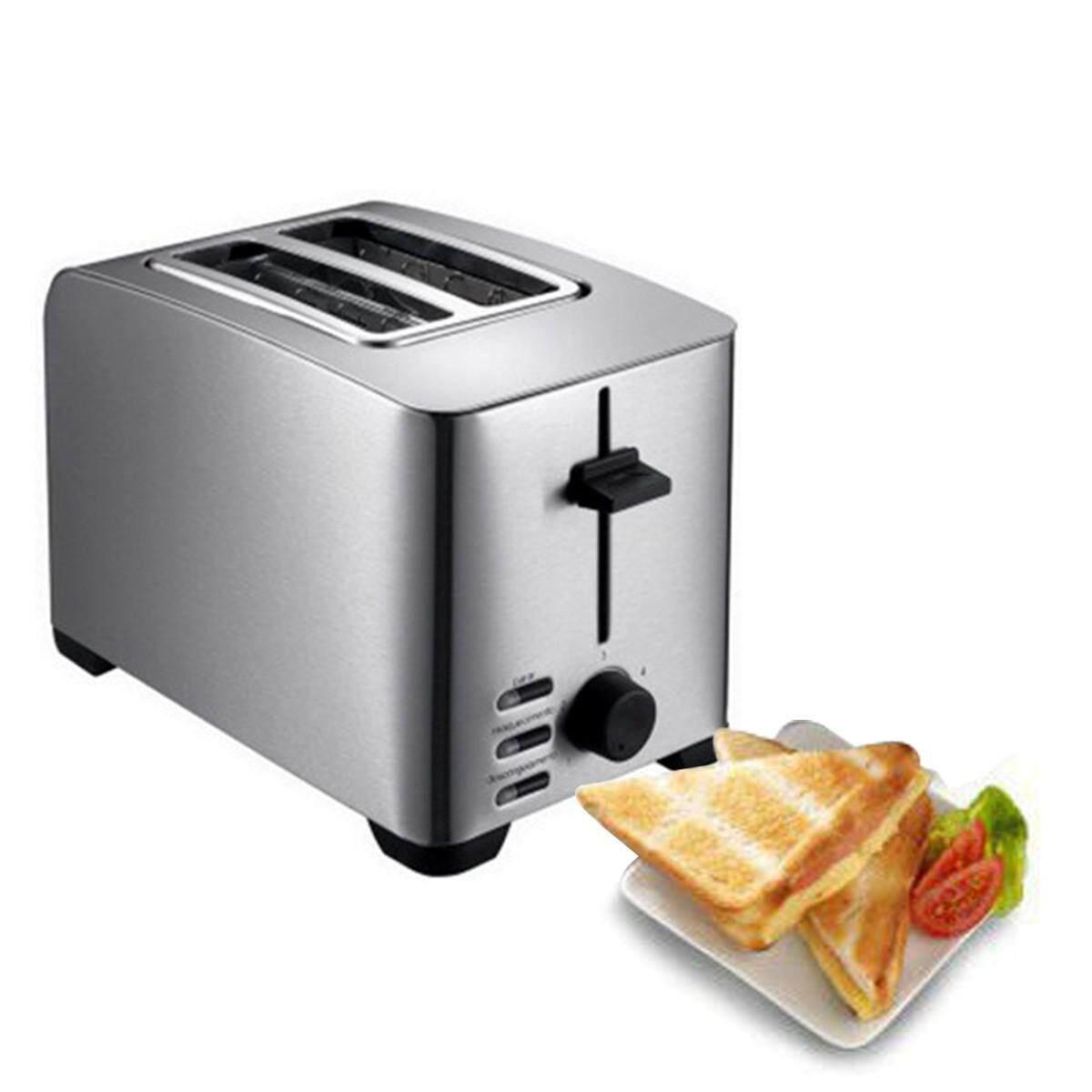 สอนใช้งาน  พัทลุง FINEXT เครื่องปิ้งขนมปัง รุ่น THT-8012B Toaster