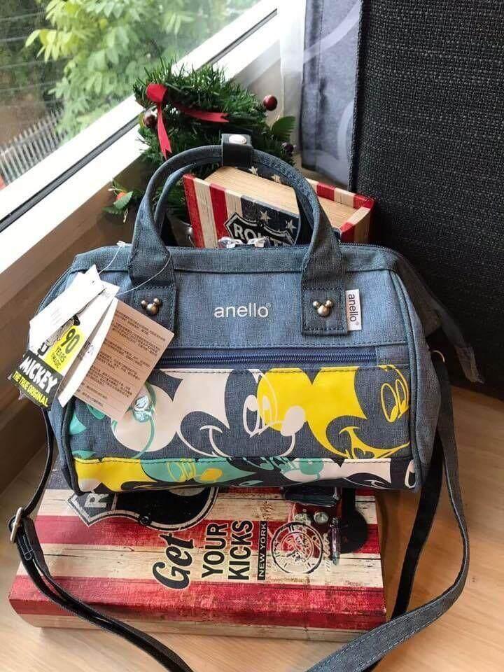 สอนใช้งาน  พิจิตร Anello Micky 2 way Boston mini Limited edition