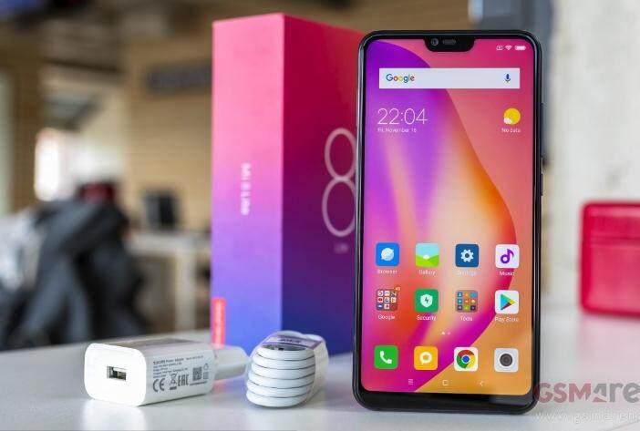 ยี่ห้อไหนดี  สมุทรสาคร Xiaomi 8 Lite สินค้าประกันศูนย์1ปี