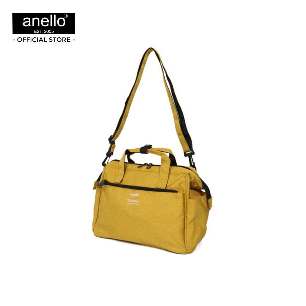 ยี่ห้อนี้ดีไหม  สุรินทร์ anello กระเป๋าสะพายไหล่ 2Way Mini Boston Bag_AT-C2614