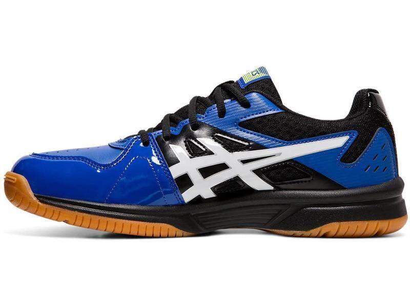 Asics Gel Progressive Blue   Sport shoes women, Squash shoes