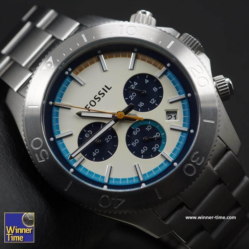 สอนใช้งาน  สกลนคร Winner Time นาฬิกา ผู้ชาย Fossil CH2916 รับประกัน 1 ปี