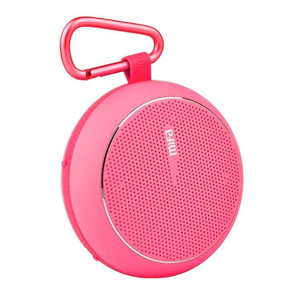 ยี่ห้อนี้ดีไหม  กำแพงเพชร SPEAKER BLUETOOTH (ลำโพงบลูทูธ) MIFA F1 (PINK) ส่งฟรี บริการเก็บเงินปลายทาง #speaker #bluetoothspeaker #ลำโพง #ลำโพงบลูทูธ #Marshall