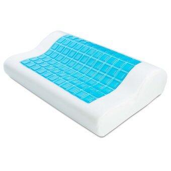 a*bloom หมอนนอน สุขภาพ เมมโมรี่โฟมพร้อมเจลเย็น Cooling Gel Memory Foam Pillow