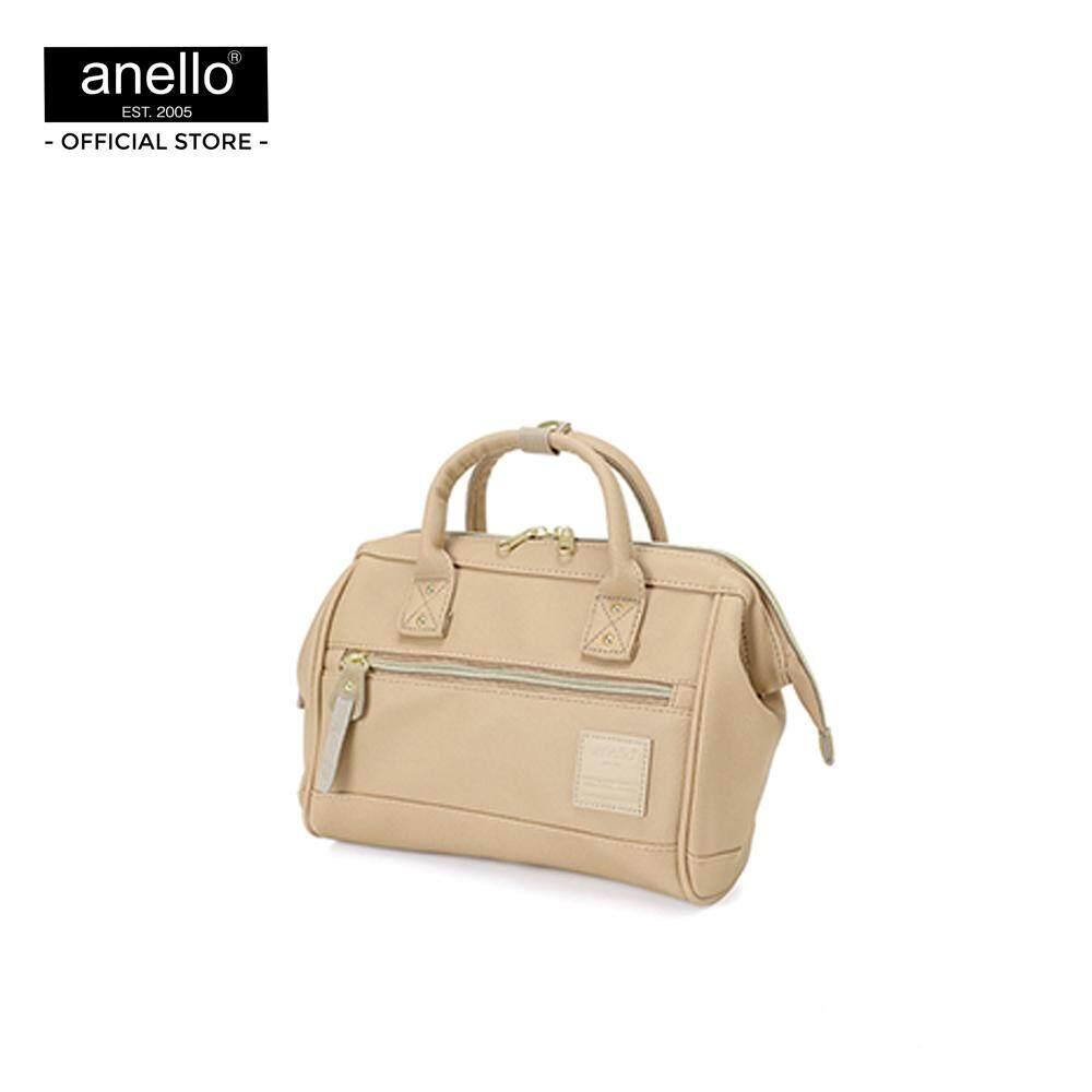 ยี่ห้อนี้ดีไหม  เพชรบูรณ์ anello กระเป๋า สะพายสไคล์ MINI Boston ขนาด mini ถือได้ 2 แบบ_AT-H1021