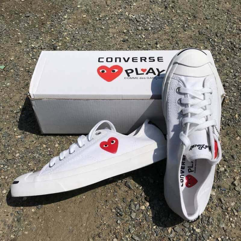 New! Converse Jack Purcell Play