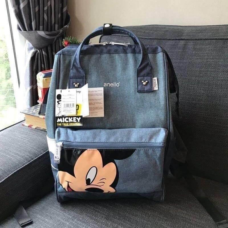ยี่ห้อไหนดี  อุบลราชธานี ANELLO MICKEY LIMITED EDITION DT-G001 รุ่น Classic กระเป๋าเป้มิกกี้สุดน่ารัก